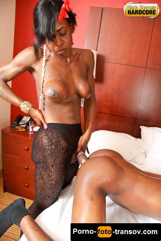 Порно чернокожий транс